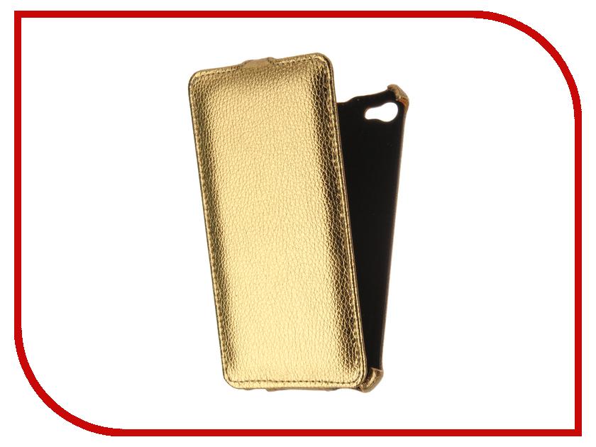 Аксессуар Чехол Meizu U20 Gecko Gold GG-F-MEIU20-GOLD аксессуар чехол meizu mx5 armor air slim gold gb f meimx5 gold