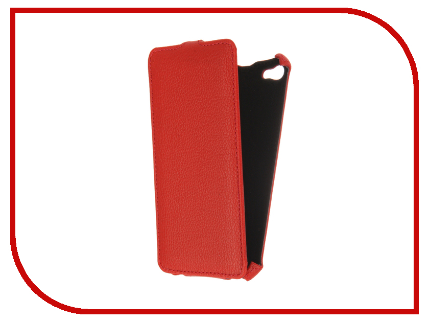 Аксессуар Чехол Meizu U20 Gecko Red GG-F-MEIU20-RED<br>