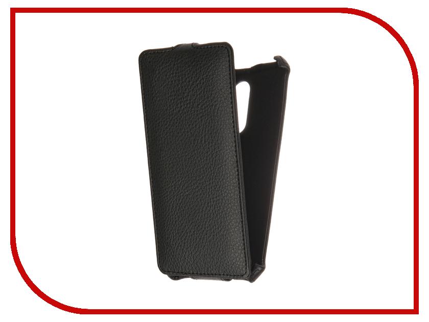 Аксессуар Чехол Xiaomi Redmi Note 4 Gecko Black GG-F-XMRNOTE4-BL micromax q392 canvas juice 2 gecko violet gg f micq392 vio