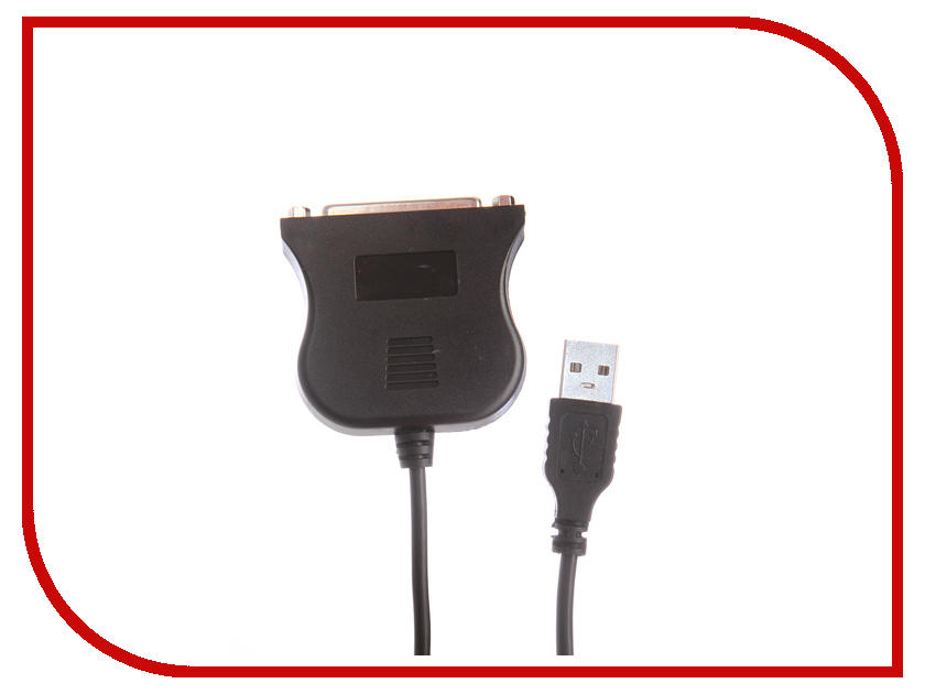 Аксессуар Espada USB 2.0 A - LPT F 0.8m EUSBLPT80