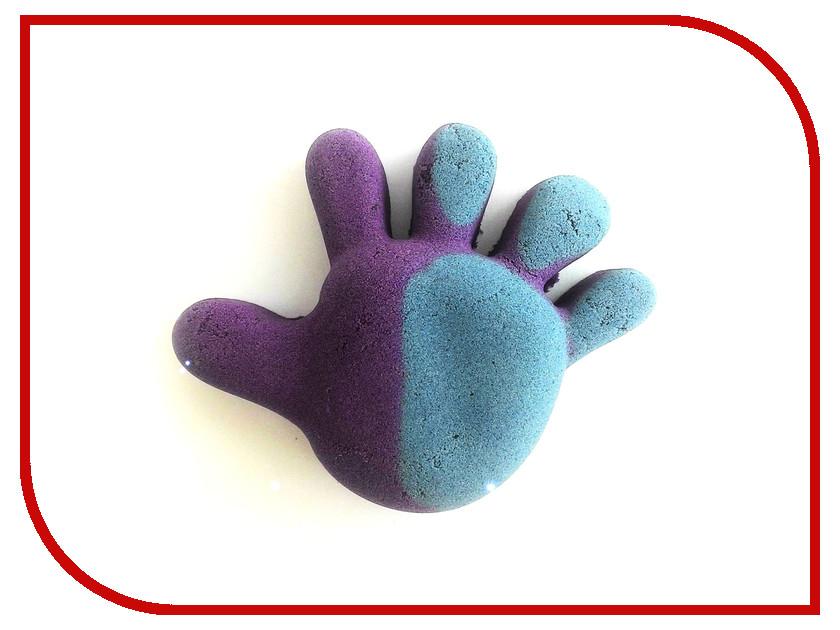 Набор для лепки Лепа Термохромный песок переход из пурпурного в синий 500гр