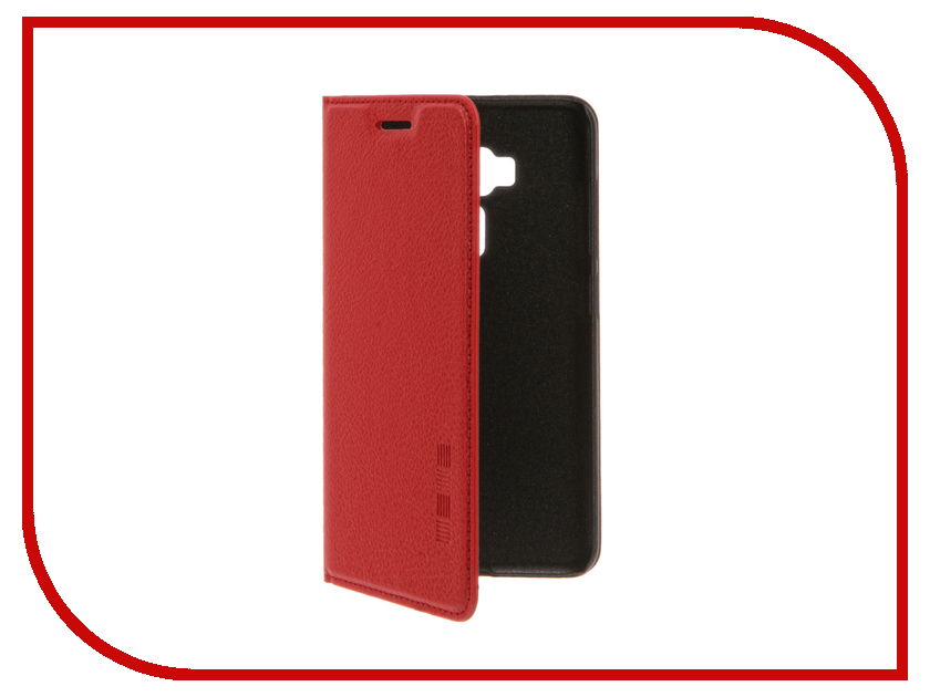 Аксессуар Чехол ASUS ZenFone 3 ZE552KL InterStep IS Vibe Red HVB-ASZF552K-NP1104O-K100<br>
