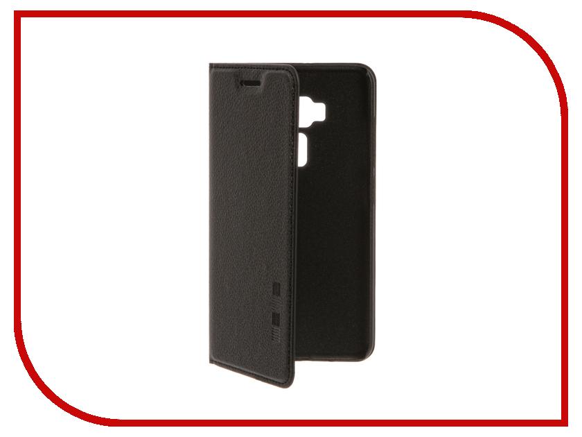 Аксессуар Чехол ASUS ZenFone 3 ZE552KL InterStep IS Vibe Black HVB-ASZF552K-NP1101O-K100<br>