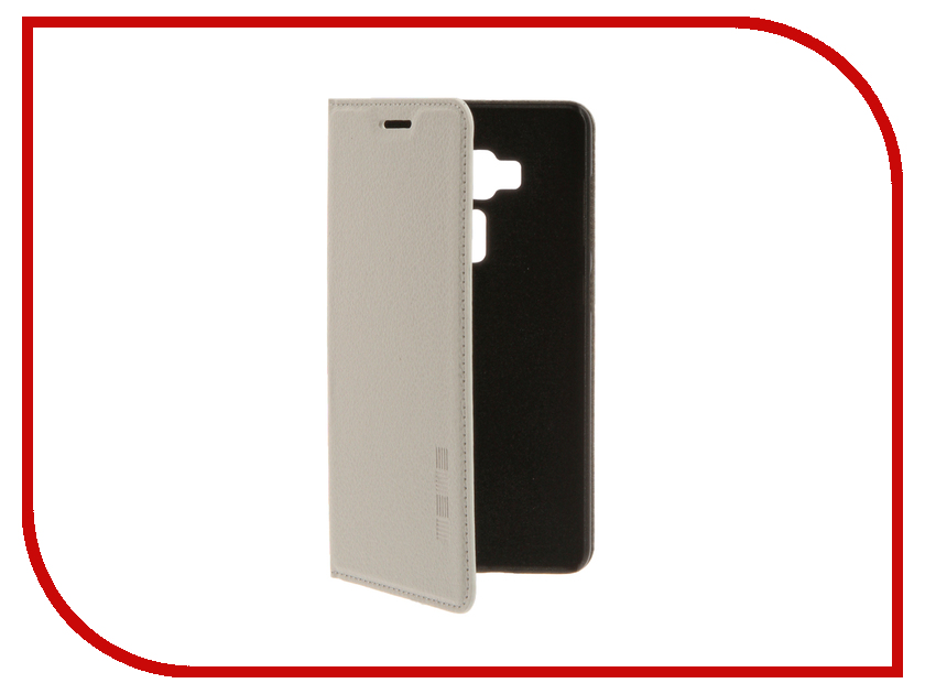 Аксессуар Чехол ASUS ZenFone 3 ZS570KL InterStep IS Vibe White HVB-ASZF570K-NP1103O-K100<br>