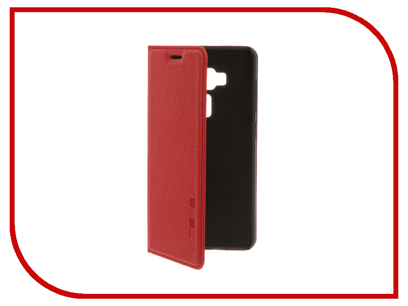 Аксессуар Чехол ASUS ZenFone 3 ZS570KL InterStep IS Vibe Red HVB-ASZF570K-NP1104O-K100 защитные стекла и пленки interstep is sf 7uhtc0ctr 000b201