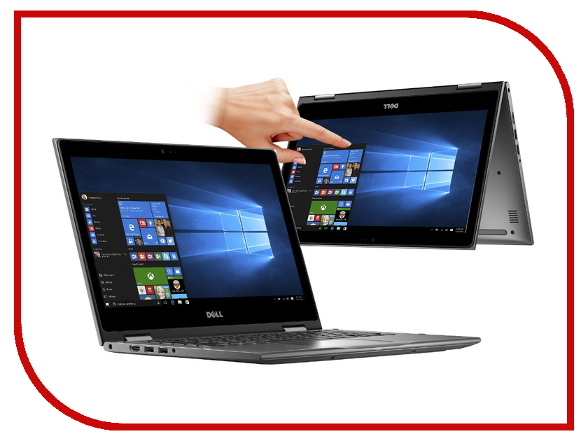Ноутбук Dell Inspiron 5378 Grey 5378-0384 (Intel Core i5-7200U 2.5 GHz/8192Mb/256Gb SSD/No ODD/Intel HD Graphics/Wi-Fi/Bluetooth/Cam/13.3/1920x1080/Touchscreen/Windows 10 64-bit) ноутбук dell xps 12 9250 2297 intel core m5 6y57 2 8 ghz 8192mb 128gb ssd no odd intel hd graphics wi fi bluetooth cam 12 5 1920x1080 touchscreen windows 10 64 bit 360203