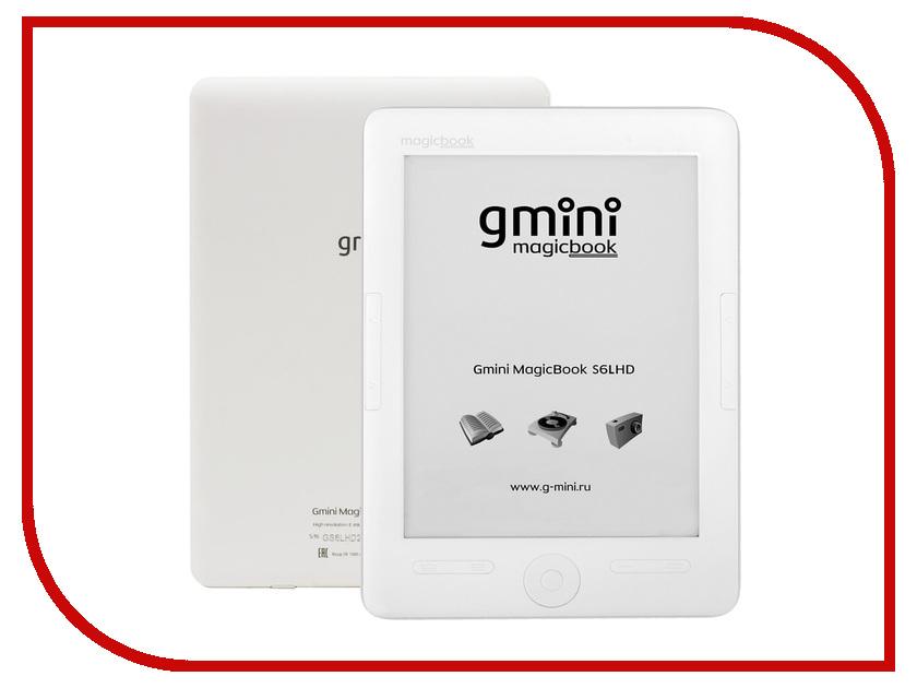 Электронная книга Gmini MagicBook S6LHD White