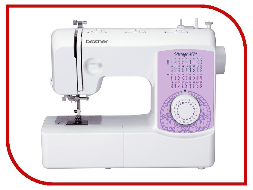 Швейная машинка Brother Vitrage M79 швейная машинка brother sl10