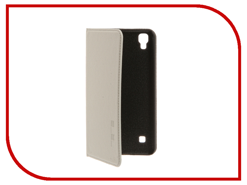 Аксессуар Чехол LG X Style InterStep IS Vibe White HVB-LG000XSK-NP1103O-K100<br>