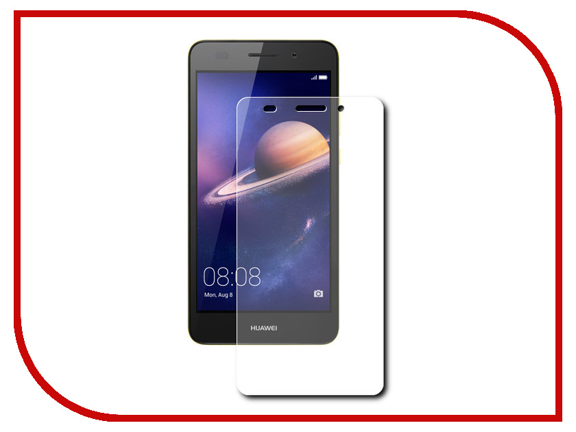Аксессуар Защитное стекло Huawei Y6 II Zibelino TG 0.33mm 2.5D ZTG-HUW-Y6-II up down flip leather protective case for leagoo lead 2