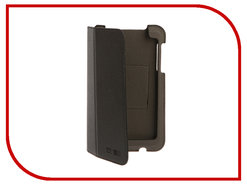 Аксессуар Чехол Lenovo Tab 3 730X InterStep Steve Black HST-LNT730XP-NK1301O-K100