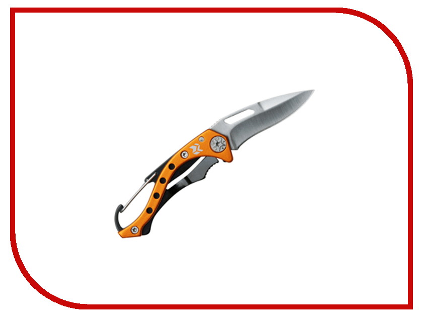 Нож Swiss+Tech Carabiner Folding Knife ST60359 - длина лезвия 70мм