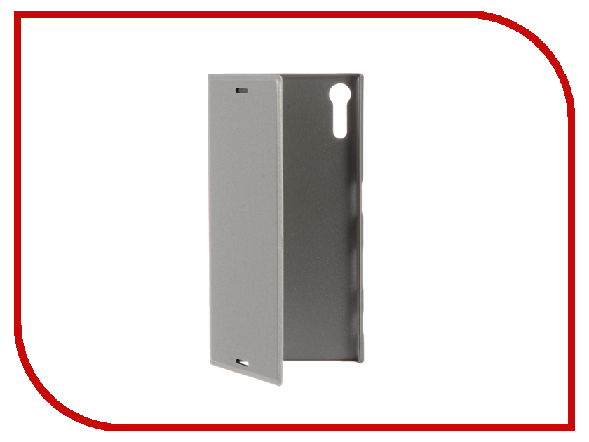 Аксессуар Чехол Sony Xperia XZ BROSCO Silver XZ-BOOK-SILVER аксессуар чехол htc u ultra brosco black htc uu book black