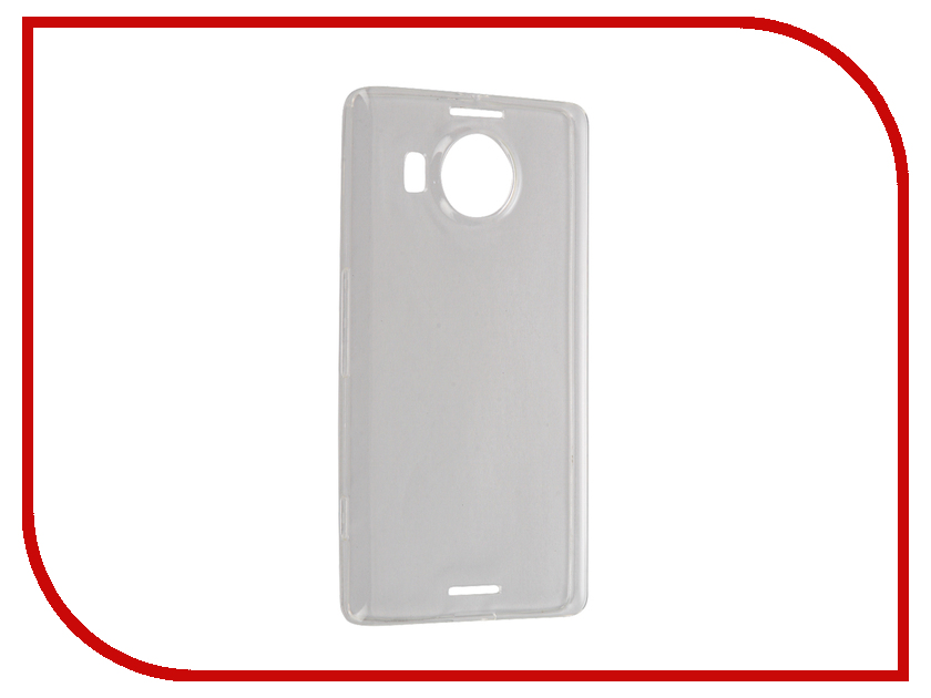 Аксессуар Чехол Microsoft Lumia 950XL BROSCO Transparent MS-950XL-TPU-TRANSPARENT