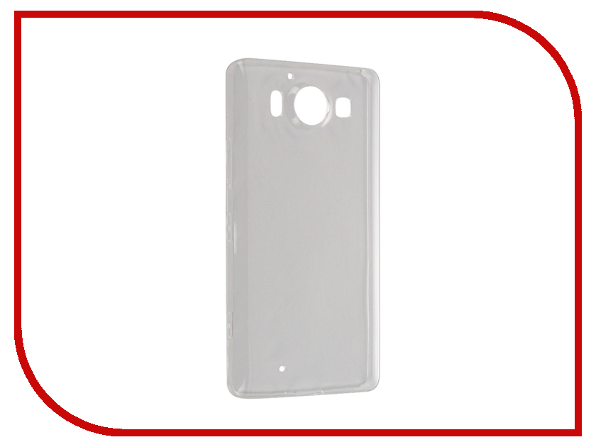 Аксессуар Чехол Microsoft Lumia 950 BROSCO Transparent MS-950-TPU-TRANSPARENT<br>