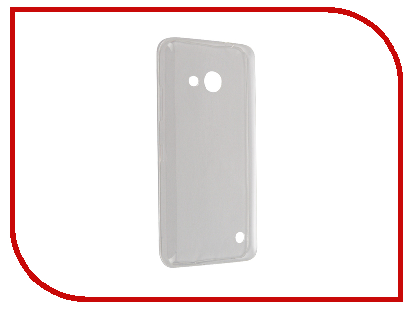 Аксессуар Чехол Microsoft Lumia 550 BROSCO Transparent MS-550-TPU-TRANSPARENT<br>
