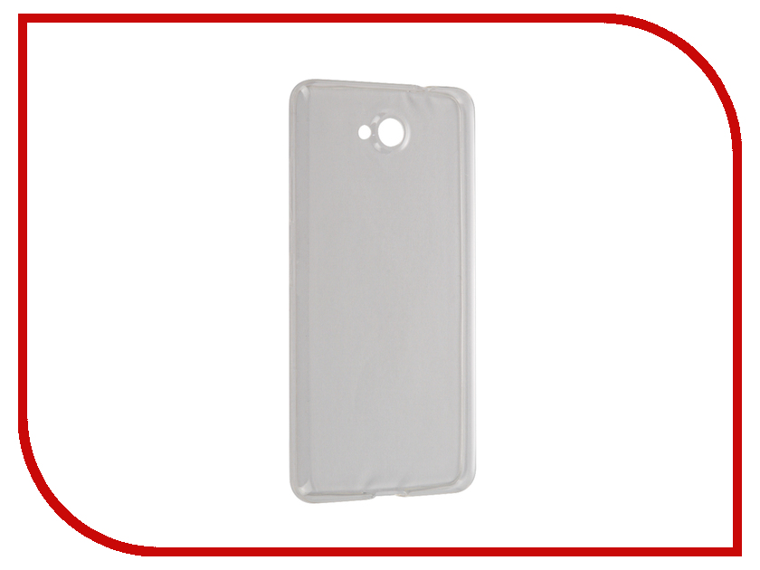 Аксессуар Чехол Microsoft Lumia 650 BROSCO Transparent MS-650-TPU-TRANSPARENT<br>
