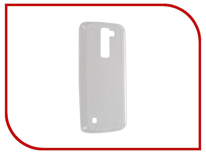 Аксессуар Чехол LG K8 BROSCO Transparent LG-K8-TPU-TRANSPARENT аксессуар чехол lg k8 zibelino classico black zcl lg k8 blk