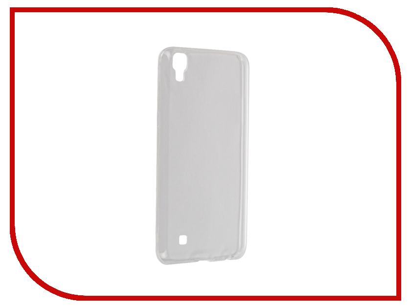 Аксессуар Чехол LG X Power BROSCO Transparent LG-X-PWR-TPU-TRANSPARENT<br>