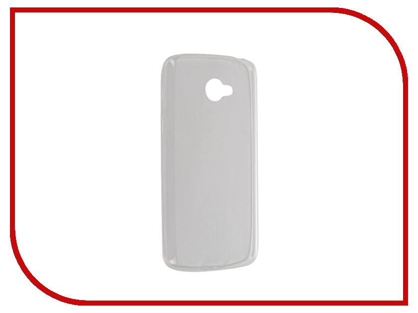 Аксессуар Чехол LG K5 BROSCO Transparent LG-K5-TPU-TRANSPARENT<br>
