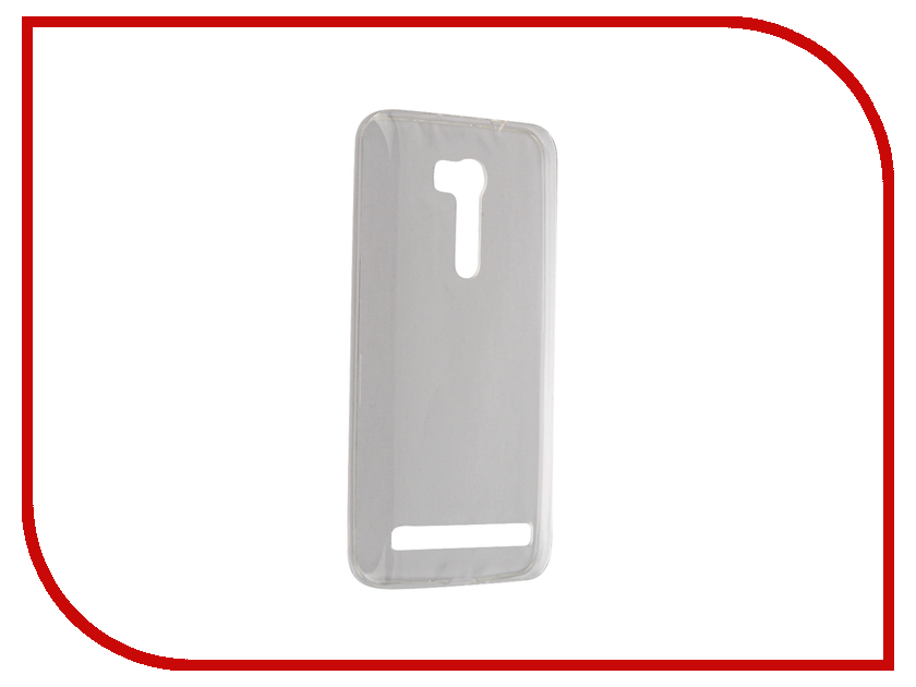Аксессуар Чехол ASUS ZenFone Go BROSCO Transparent AS-ZFGO-TPU-TRANSPARENT