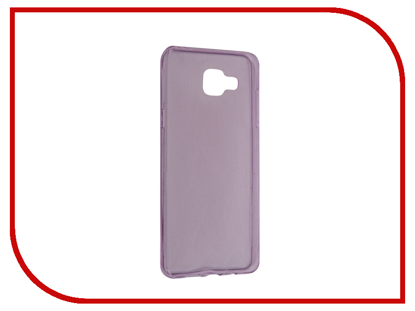 Аксессуар Чехол Samsung Galaxy A5 2016 BROSCO Purple SS-A5-TPU-PURPLE<br>