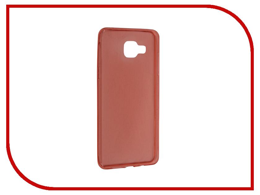 Аксессуар Чехол Samsung Galaxy A5 2016 BROSCO Red SS-A5-TPU-RED<br>