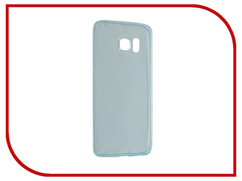Аксессуар Чехол Samsung Galaxy S6 Edge BROSCO Green SS-S6E-TPU-GREEN<br>