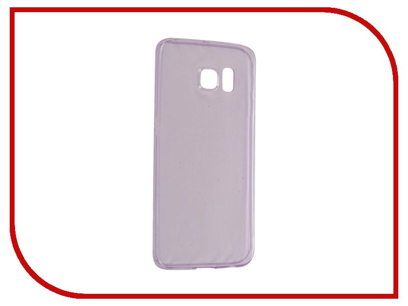 Аксессуар Чехол Samsung Galaxy S6 Edge BROSCO Purple SS-S6E-TPU-PURPLE юбки nothing but love юбка