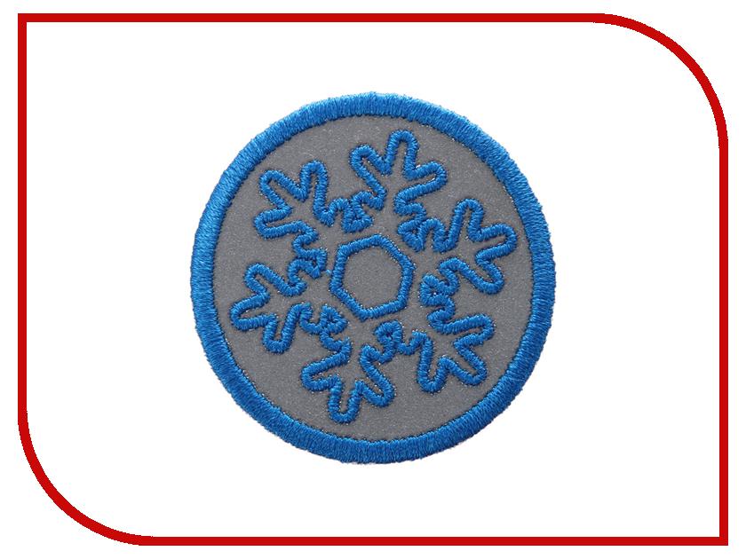 Светоотражатель Cova Термошеврон Снежок Blue 55mm 333-043<br>