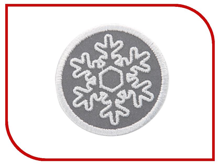 Светоотражатель Cova Термошеврон Снежок White 55mm 333-042<br>