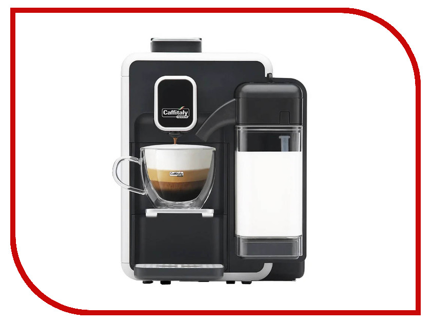 Кофемашина Caffitaly System Bianka S22 White-Black caffitaly капсулы caffitaly system corposo