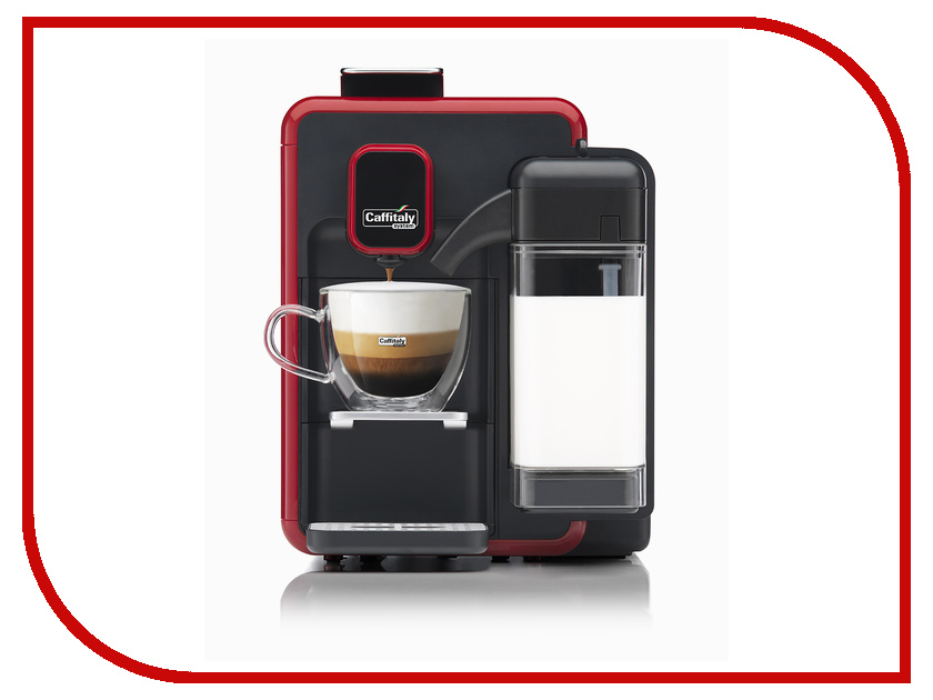 Caffitaly System Bianka S22 Red-Black