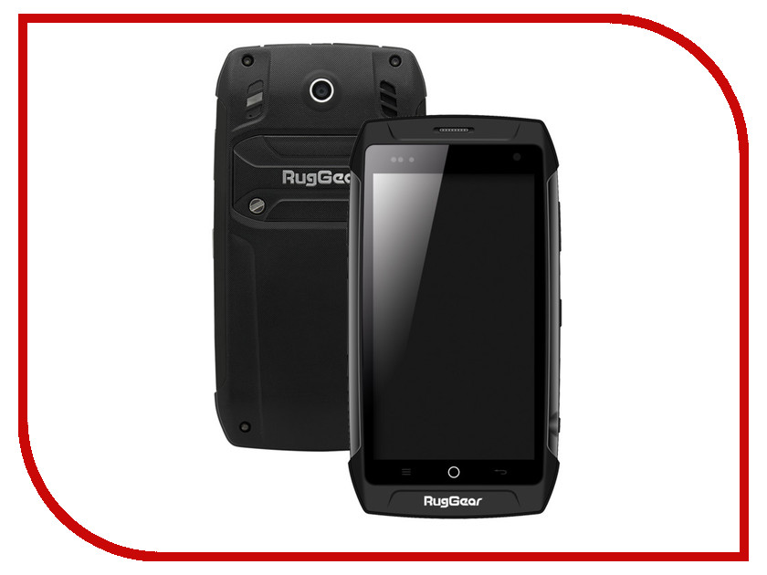 Сотовый телефон RugGear RG730 Black защищенный смартфон ruggear rg 500