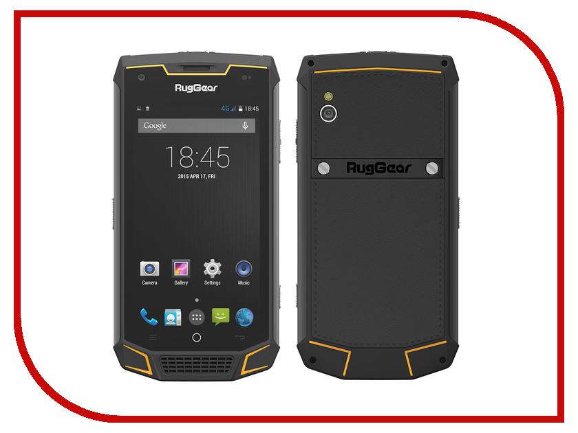 Сотовый телефон RugGear RG740 Black защищенный смартфон ruggear rg 500