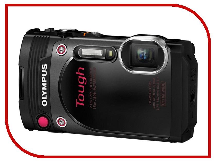 Фотоаппарат Olympus Tough TG-870 Black