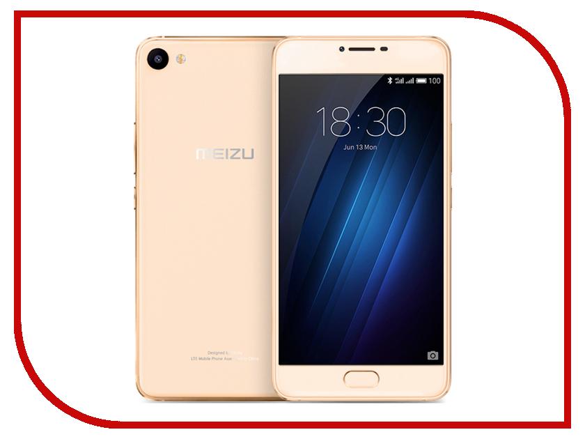 Сотовый телефон Meizu U10 16Gb Gold<br>