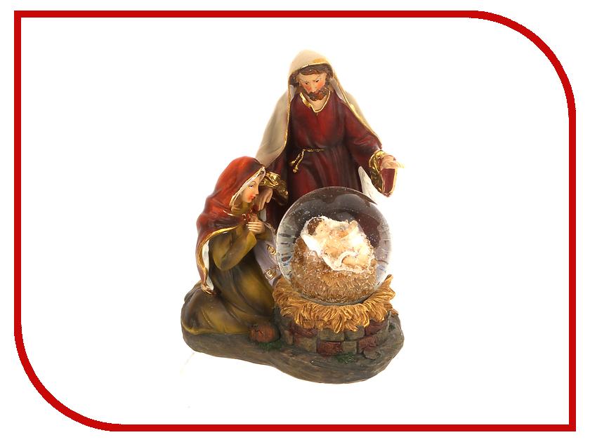 Новогодний сувенир NV Trading Co Святое семейство JH1708