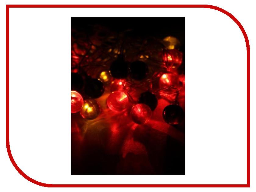 Гирлянда Космос Экономик Шарики витые 30 LED Multicolor KOC_GIR30LEDRUBBALL2_RGB