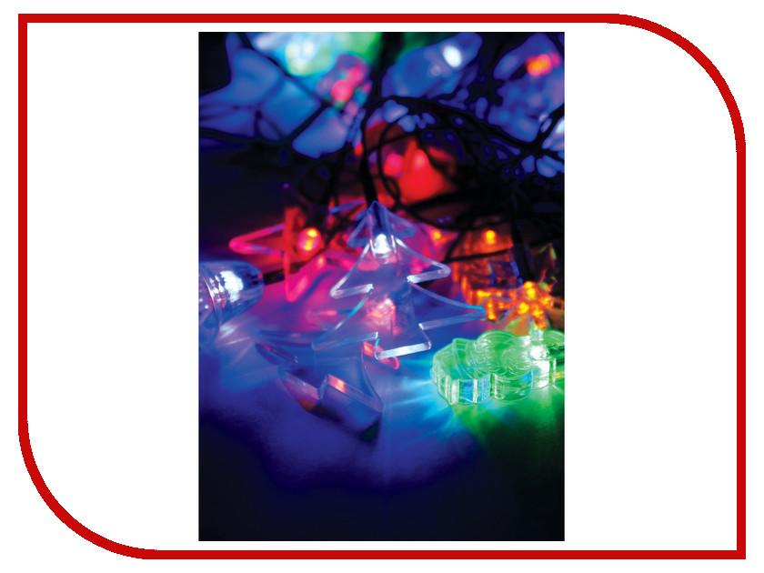 Гирлянда Космос Экономик Ёлочные игрушки 30 LED Multicolor KOC_GIR30LEDMIX1_RGB<br>