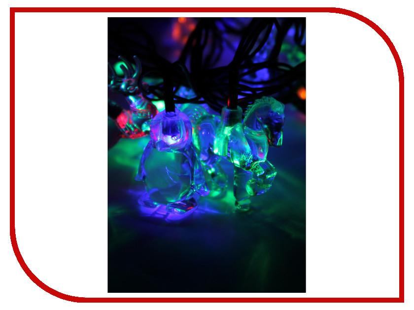 Гирлянда Космос Экономик Ёлочные игрушки 30 LED Multicolor KOC_GIR30LEDMIX3_RGB<br>