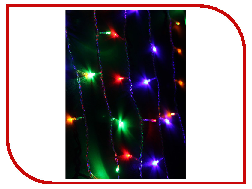 Гирлянда Космос Экономик Занавес 200 LED Multicolor KOC_CUR200LED_RGB<br>