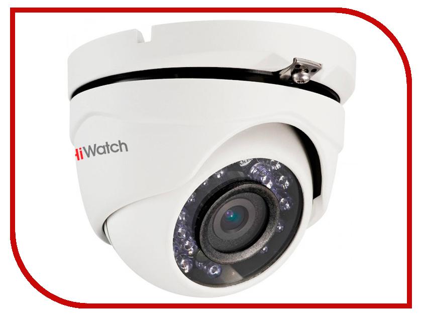 Аналоговая камера HiWatch DS-T103 2.8mm аналоговая камера hiwatch ds t106 2 8 12mm