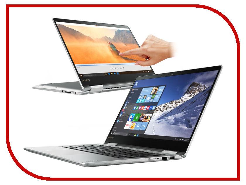Ноутбук Lenovo IdeaPad Yoga 710-14ISK 80V4000BRK Intel Core i5-7200U 2.5 GHz/8192Mb/256Gb SSD/No ODD/nVidia GeForce 940MX 2048Mb/Wi-Fi/Bluetooth/Cam/14.0/1920x1080/Touchscreen/Windows 10 64-bit<br>