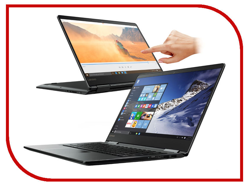 Ноутбук Lenovo IdeaPad Yoga 710-14ISK 80V4000ERK Intel Core i5-7200U 2.5 GHz/8192Mb/256Gb SSD/No ODD/Intel HD Graphics/Wi-Fi/Bluetooth/Cam/14.0/1920x1080/Touchscreen/Windows 10 64-bit<br>