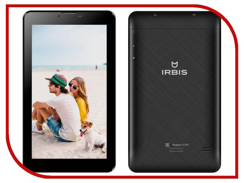Планшет Irbis TZ707 (Mediatek MTK8312CW 1.3 GHz/512Mb/8Gb/Wi-Fi/3G/Bluetooth/GPS/Cam/7.0/1024x600/Android)