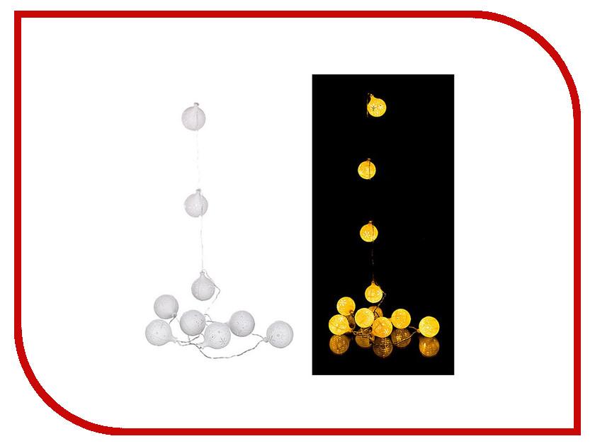 Гирлянда Lefard 10 LED 2m Warm White 857-002<br>