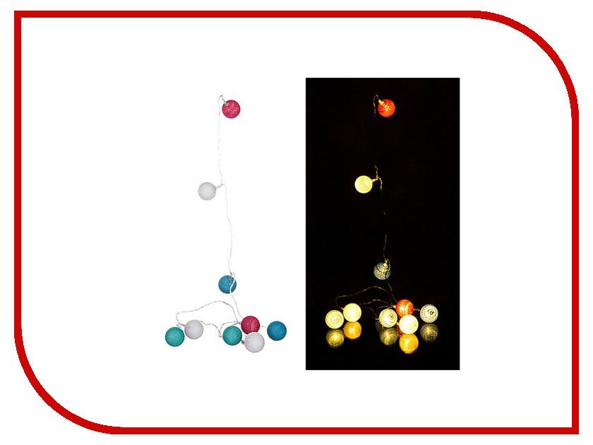 Гирлянда Lefard 10 LED 2m Warm White 857-001 гирлянда luazon дождь 2m 6m multicolor 671678