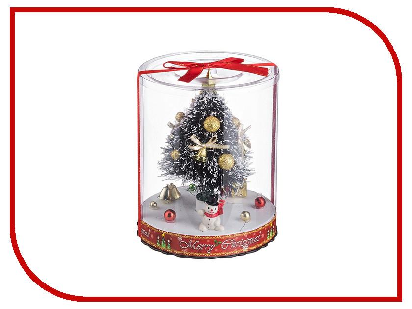 Новогодний сувенир Lefard Елочка с подсветкой 16.5cm 161-104