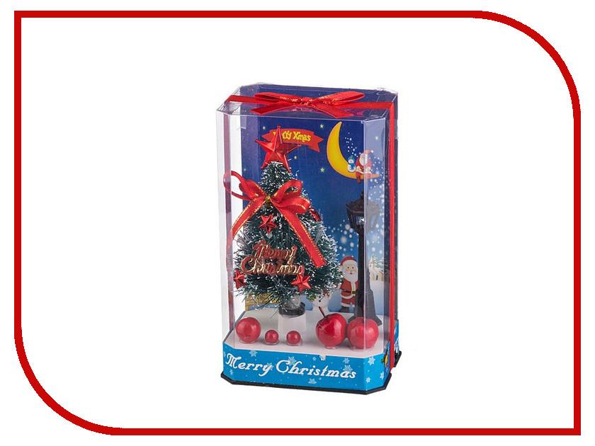 Новогодний сувенир Lefard Елочка с подсветкой 16.3cm 161-101